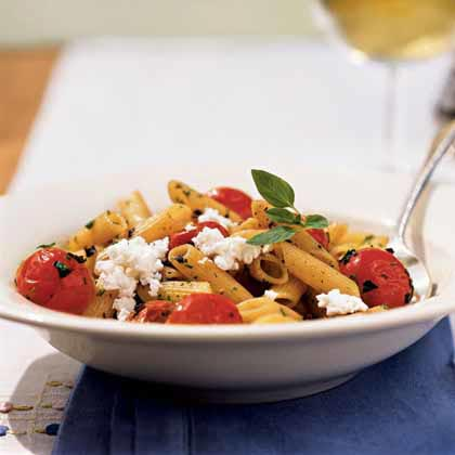 Pasta with Five Fresh Herbs