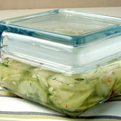 Spicy Cucumber Relish