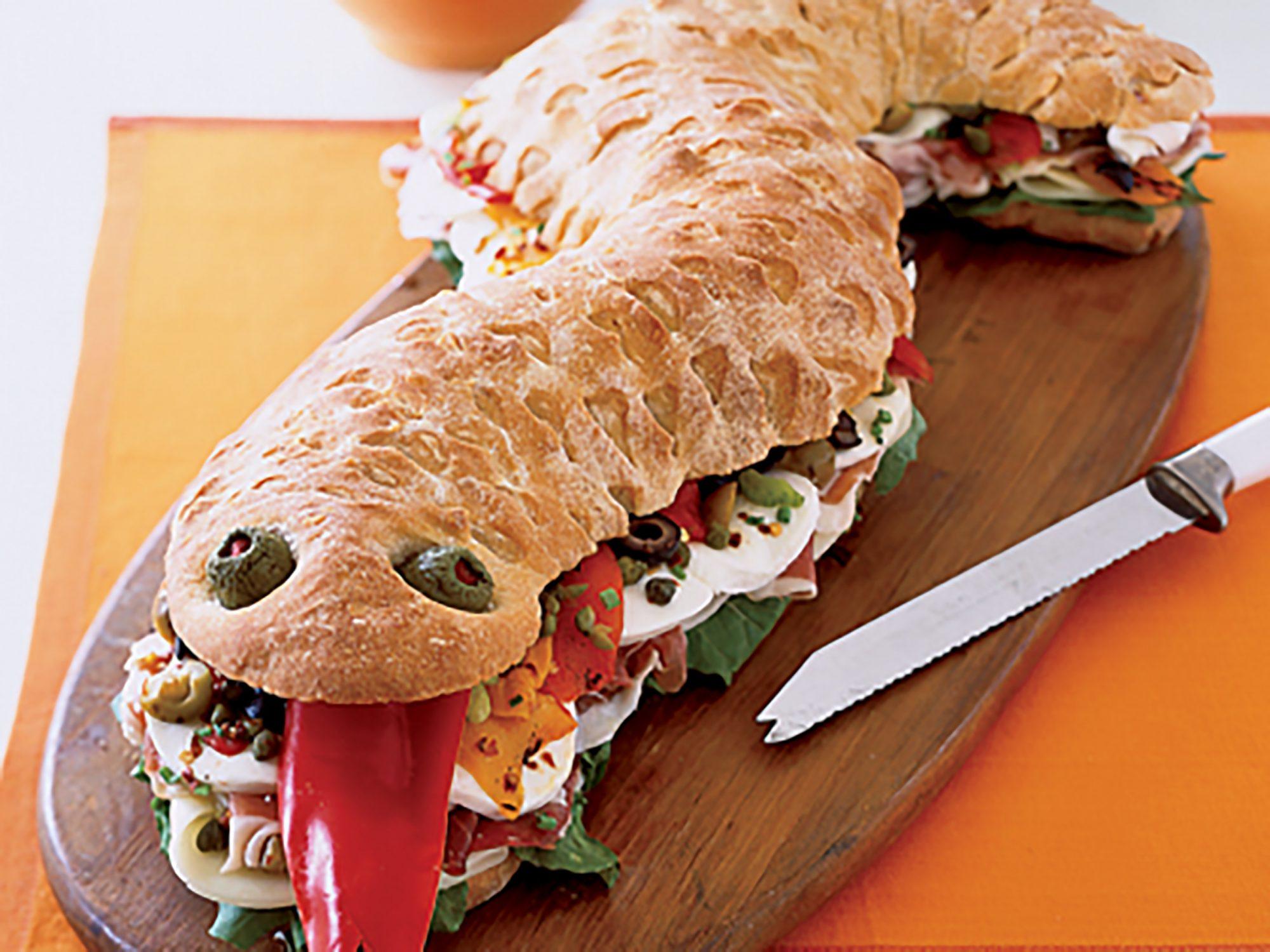 Snake Sandwich