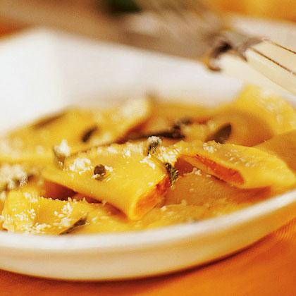 Pumpkin-filled Pasta