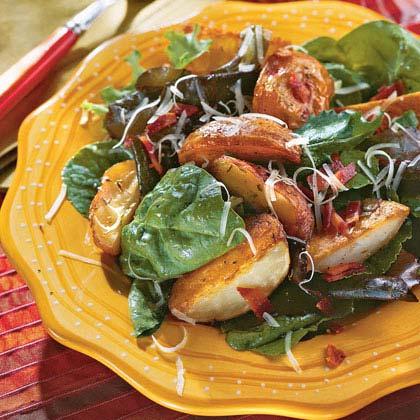 Roasted Potato-and-Bacon Salad