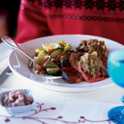 Cardamom Pork Roast with Apples and Figs