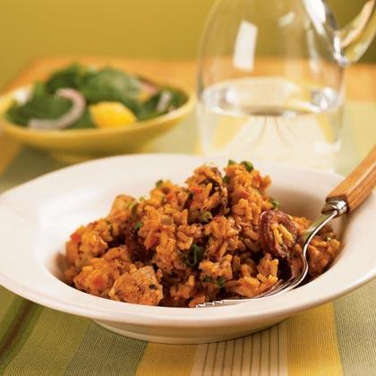 Chicken and Andouille Jambalaya