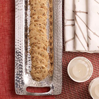 Browned Butter-Pecan Shortbread