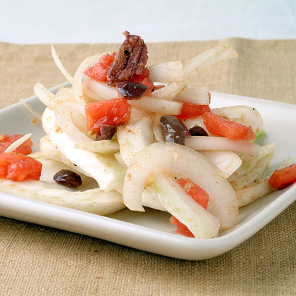 Fennel with Sweet Onion in Tomato Vinaigrette