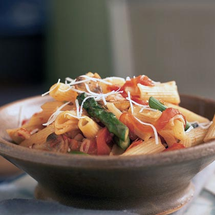 Asparagus and Parmesan Pasta Toss