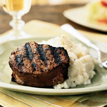 Roadhouse Steaks with Ancho Chile Rub