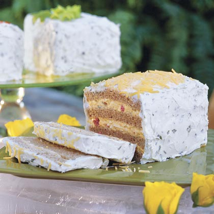 Frosted Party Sandwiches