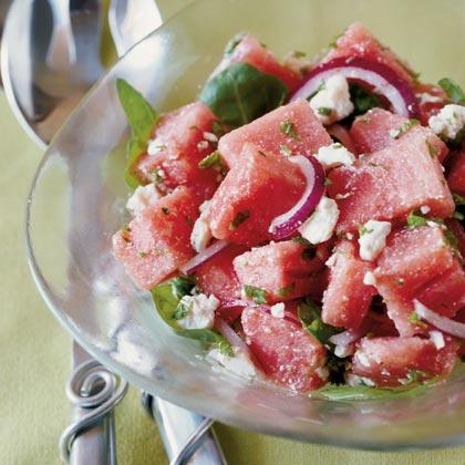 Big Top Watermelon Salad