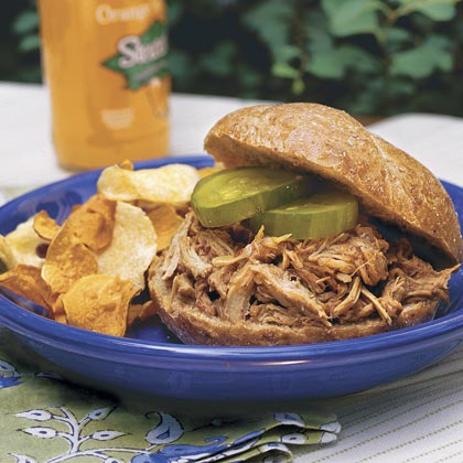 Barbecue Pork Sandwiches