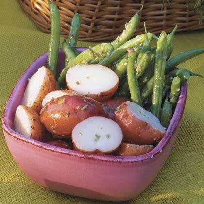 Green Bean-and-New Potato Salad