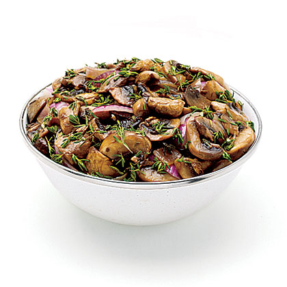 Mushroom-Onion Relish