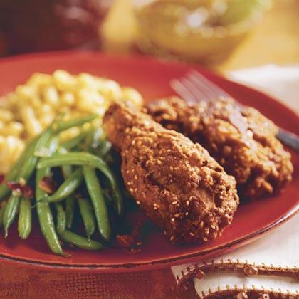 Spicy Curried Fried Chicken