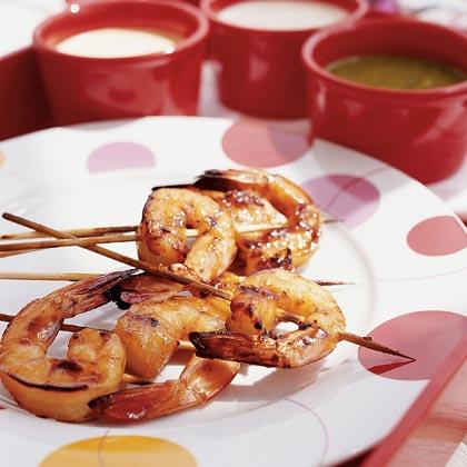 Honey-glazed Shrimp