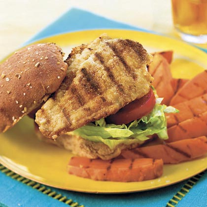 Cumin-Dusted Catfish Sandwiches
