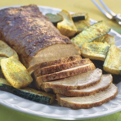 Zesty Pork Roast With Vegetables