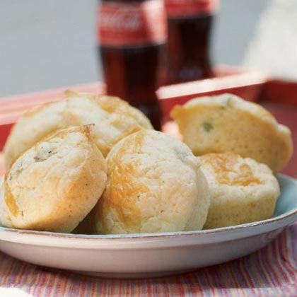 Cheddar-Green Onion Muffins