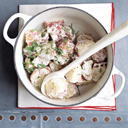 Pork Cutlets with Potato Salad