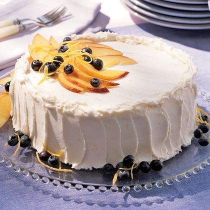 Nectarine-Blueberry Cake