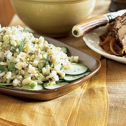 Herring and Apple Salad