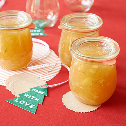 Pear-Vanilla Freezer Jam