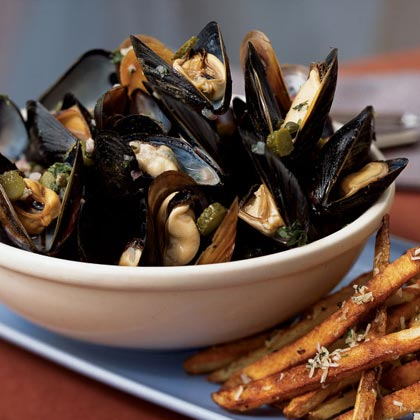 Mussels Ravigote
