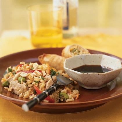 Pork and Edamame Fried Rice