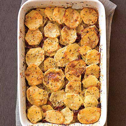 Caraway-Bacon Potatoes