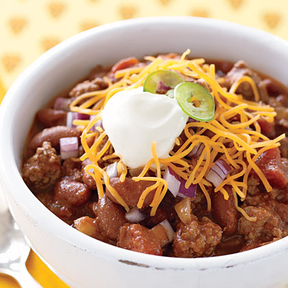 Old-Fashioned Chili