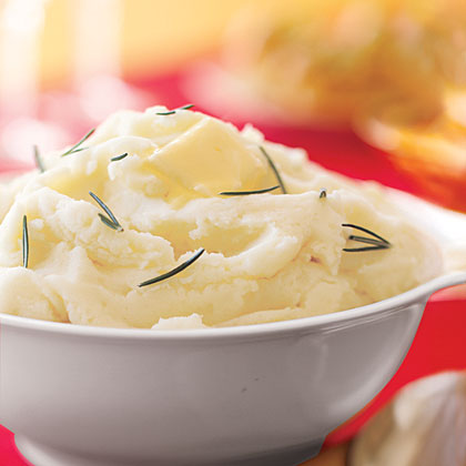 Garlic-Shallot Mashed Potatoes