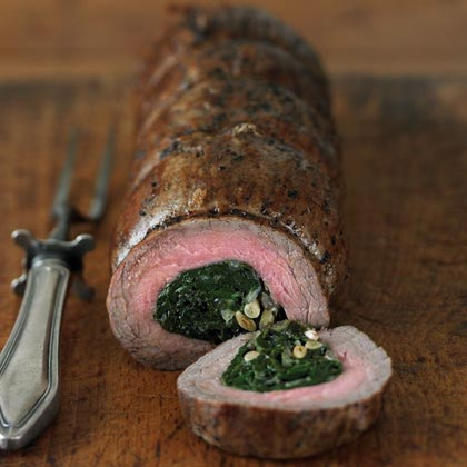 Flank Steak Braciole