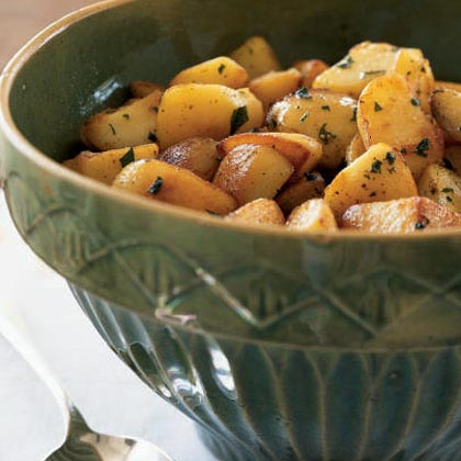 Yukon Gold Potatoes Sautéed in Clarified Butter