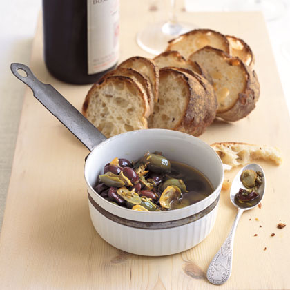 Warm Olive Topping