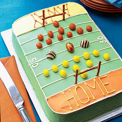 Super Bowl Pumpkin Spice Cake