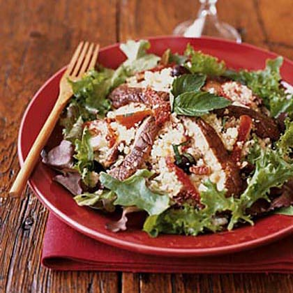 Couscous Salad with Portobello Mushrooms