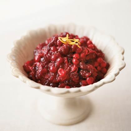 Cranberry Ginger Chutney