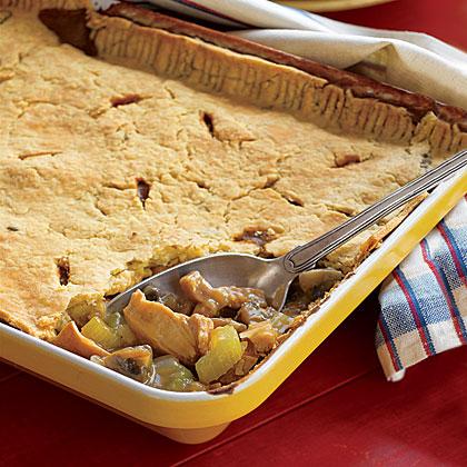 Virginia Ham- and-Chicken Pie