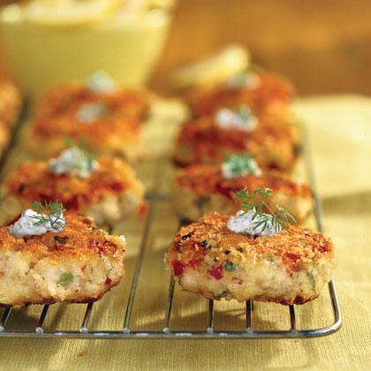 Mini Catfish Cakes