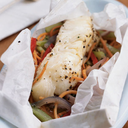 Cooking Fish en Papillote