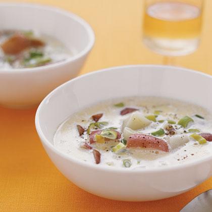Scallion and Potato Soup