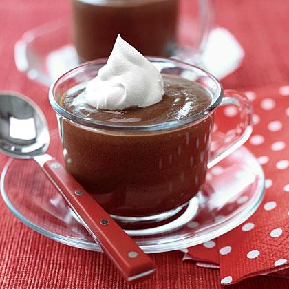 Chocolate Mint Pudding