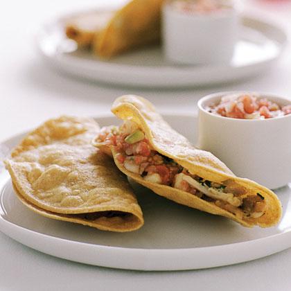 Crisp Chicken Tacos (Tacos de Pollo)