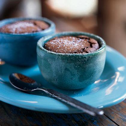Mexican Chocolate Soufflés