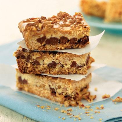 Caramel-Pecan Oatmeal Bars
