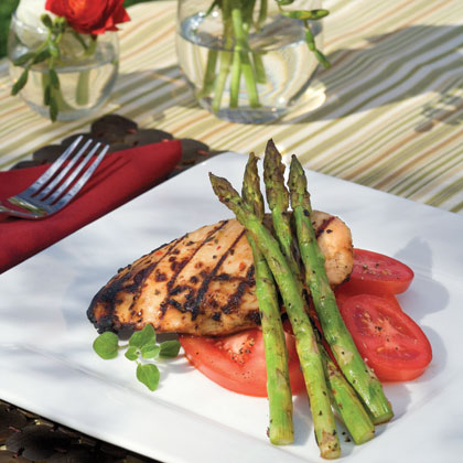 Herbed Chicken and Asparagus