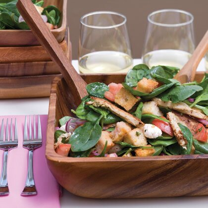 Italian Bread Salad Recipe Myrecipes
