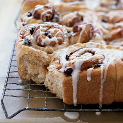 Whole Wheat Cinnamon Rolls