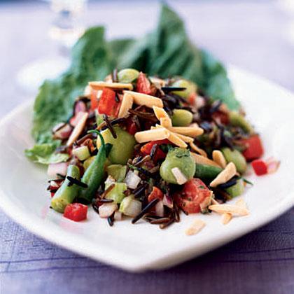 Wild Rice and Summer Succotash Salad