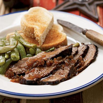 Texas-Style Smoked Brisket