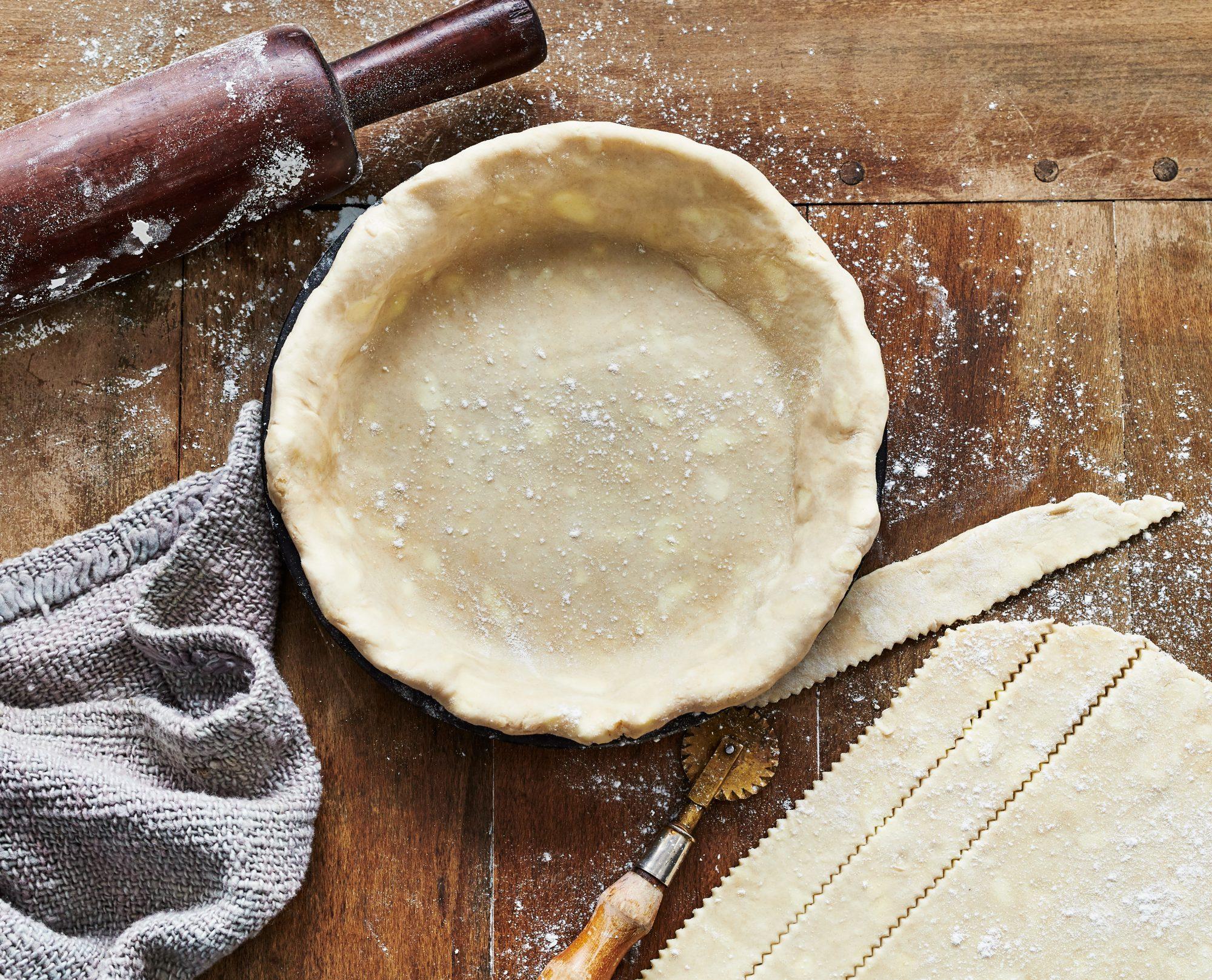 su- Best Basic Pie Crust Dough